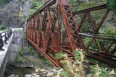 The Old Odaki Bridge, Ashio